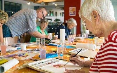 How Art Therapy Benefits Seniors