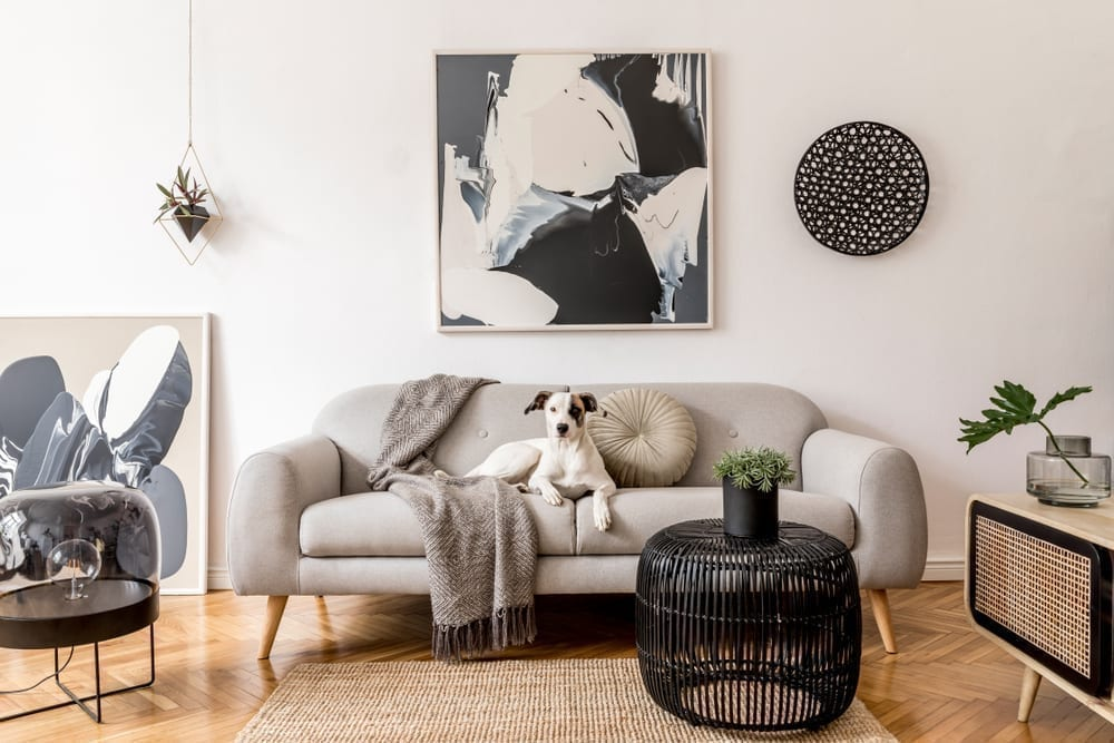 How Does Art Complete a Room?