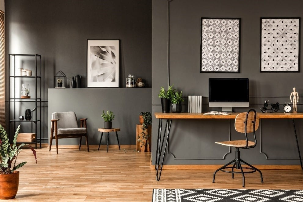 How Art Can Improve Your Home Office